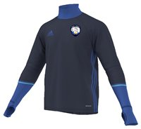 adidas County Waterford GAA Condivo 16 Training Top - Adult - Navy/Blue