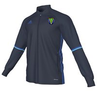 adidas County Roscommon GAA Condivo 16 Training Jacket - Adult - Navy/Blue