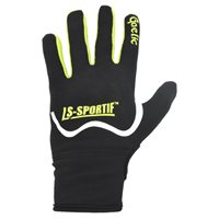 LS Famous Gaelic Gloves - Adult - Black/Lime