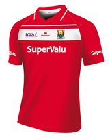 Mc Keever Cork LGFA Official Home Jersey (Youth) - Red/White