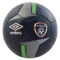 Umbro FAI Euro Republic of Ireland Veloce Supporter Football - Size 5 - Navy/Green/White