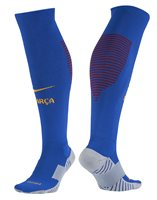 Nike FC Barcelona Stadium Home/Away Goalkeeper Socks - Adult - Sport Royal/Gym Red/University Gold