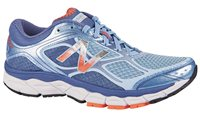 New Balance 860v6 Running Shoes - Womens - Light Blue/Dragonfly