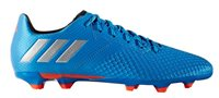 adidas Messi 16.3 FG Football Boots - Adult - Shock Blue/Matte Silver/Core Black