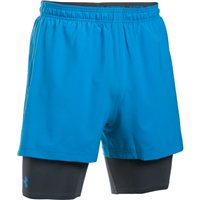 Under Armour Mirage 2-in-1 Training Shorts  - Mens - Brilliant Blue