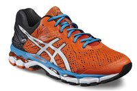 Asics Gel Luminus Running Shoes - Mens - Flame/Silver/Blue