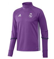 adidas Real Madrid 2016/17 Training Top - Adult - Ray Purple/Crystal White