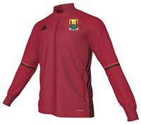 adidas County Cork Ladies GAA Condivo 16 Training Jacket - Adult - Red/Black
