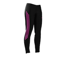 adidas Mi Team 14 Plain Training Skinny Pants - Womens - Black/Intense Pink