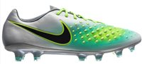 Nike Magista Opus II FG Football Boots - Adult - Pure Platinum/Ghost Green/Hyper Turquoise/Black