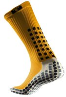 Trusox Mid-Calf Cushion Socks 1 Pair - Adult - Yellow/Black
