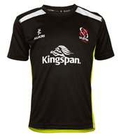 Kukri Ulster Rugby 2016/17 Performance Athletic Fit Tee - Youth - Black/Electric Green/White