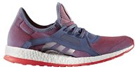 adidas Pure Boost X Trainers - Womens - Super Purple/Silver Met/Shock Red
