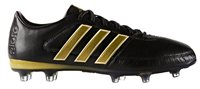 adidas Gloro 16.1 FG Football Boots - Adult - Core Black/Gold Met