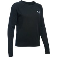 Under Armour Favourite Fleece Crew - Womens - Black/White