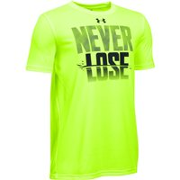 Under Armour Never Lose Tee - Boys - Fuel Green