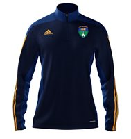 adidas Mi County Wicklow GAA Mi Team 14 Quarter Zip - Youth - New Navy/Cobalt/Collegiate Gold