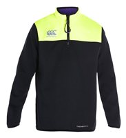 Canterbury Vaposhield Quarter Zip Thermal Layer - Boys - Jet Black
