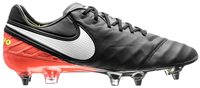 Nike Tiempo Legend VI SG-Pro Football Boots - Adult - Black/Orange/Volt/White