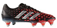 adidas Adipower Kakari SG - Adult - Core Black/Silver Met/Shock Red