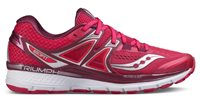 Saucony Triumph ISO 3 Running Shoes - Womens - Pink/Berry/Silver