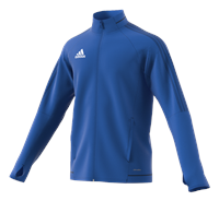 adidas Tiro 17 Plain Training Jacket - Adult - Royal