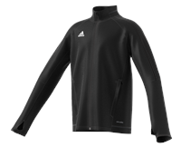 adidas Tiro 17 Plain Training Jacket - Youth - Black