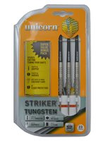Unicorn Striker 80% Tungsten Knurled 23 Gram Darts - Set of 3