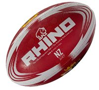 Rhino British and Irish Lions Supporter Rugby Ball - Red - Size 5