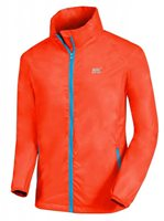 Mac in a Sac Neon Waterproof Packaway Jacket - Womens - Neon Orange