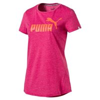 Puma Essentials No.1 Tee - Womens - Bright Rose