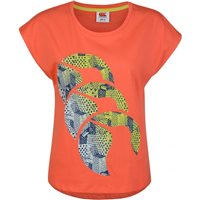 Canterbury CCC Logo Tee - Womens - Hot Coral