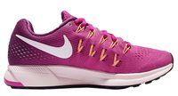 Nike Air Zoom Pegasus 33 Running Shoes - Womens - Fire Pink/White/Grape