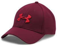 Under Armour Blitzing II Stretch Fit Cap - Mens - Maroon/Black/Red