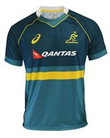 Asics Australia Wallabies 2017/18 Training Jersey - Adult - Larkspur