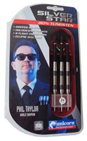 Unicorn Silverstar Phil Taylor Darts - Set of 3