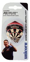 Unicorn Dartboard Dart Flights - Pack of 3