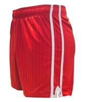 LS Pairc Gaelic Shorts - Red/White - Adult