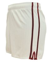 LS Pairc Gaelic Shorts - White/Maroon - Youth