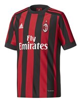 adidas AC Milan 2017/18 Home Jersey - Youth - Victory Red/Black