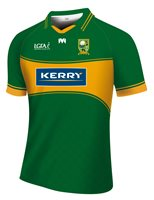 Mc Keever Kerry Ladies LGFA Official Home Jersey (Adult) - Green/Gold