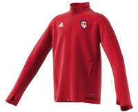 adidas County Carlow GAA Tiro 17 Training Jacket - Youth - Red