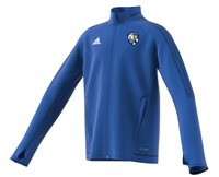 adidas County Monaghan GAA Tiro 17 Training Jacket - Youth - Royal