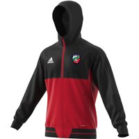 adidas County Mayo GAA Tiro 17 Presentation Jacket - Adult - Black/Red
