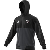 adidas County Sligo GAA Tiro 17 Presentation Jacket - Adult - Black/Grey