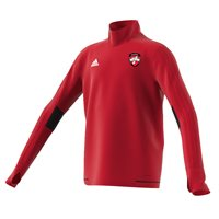 adidas County Derry GAA Tiro 17 Training Top - Youth - Red/White/Black