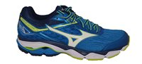 Mizuno Wave Ultima 9 Running Shoes - Mens - Directoire Blue/White/Yellow