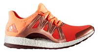 adidas Pure Boost Xpose Running Shoes - Womens - Energy/Glow Orange/Maroon