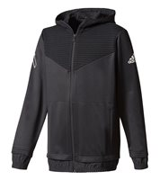adidas Ace Full Zip Hoodie - Boys - Black