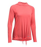 Under Armour Threadborne Train Twist Hoodie - Womens - Marathon Red/Metallic Silver